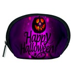 Happy Ghost Halloween Accessory Pouches (Medium)