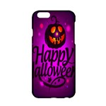 Happy Ghost Halloween Apple iPhone 6/6S Hardshell Case