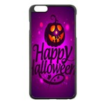 Happy Ghost Halloween Apple iPhone 6 Plus/6S Plus Black Enamel Case