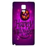 Happy Ghost Halloween Galaxy Note 4 Back Case