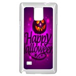 Happy Ghost Halloween Samsung Galaxy Note 4 Case (White)