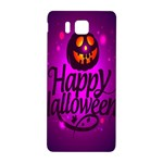 Happy Ghost Halloween Samsung Galaxy Alpha Hardshell Back Case