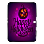 Happy Ghost Halloween Samsung Galaxy Tab 4 (10.1 ) Hardshell Case