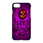 Happy Ghost Halloween Apple iPhone 7 Hardshell Case