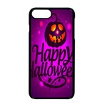 Happy Ghost Halloween Apple iPhone 7 Plus Seamless Case (Black)