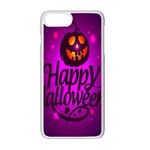 Happy Ghost Halloween Apple iPhone 7 Plus Seamless Case (White)