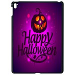 Happy Ghost Halloween Apple iPad Pro 9.7   Black Seamless Case