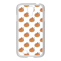 Face Mask Ghost Halloween Pumpkin Pattern Samsung Galaxy S4 I9500/ I9505 Case (white) by Alisyart
