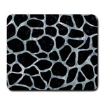 SKIN1 BLACK MARBLE & ICE CRYSTALS Large Mousepads