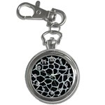 SKIN1 BLACK MARBLE & ICE CRYSTALS Key Chain Watches