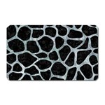 SKIN1 BLACK MARBLE & ICE CRYSTALS Magnet (Rectangular)