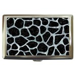 SKIN1 BLACK MARBLE & ICE CRYSTALS Cigarette Money Cases