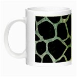 SKIN1 BLACK MARBLE & ICE CRYSTALS Night Luminous Mugs