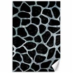 SKIN1 BLACK MARBLE & ICE CRYSTALS Canvas 20  x 30