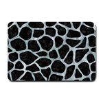 SKIN1 BLACK MARBLE & ICE CRYSTALS Small Doormat