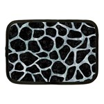 SKIN1 BLACK MARBLE & ICE CRYSTALS Netbook Case (Medium)