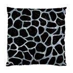 SKIN1 BLACK MARBLE & ICE CRYSTALS Standard Cushion Case (Two Sides)