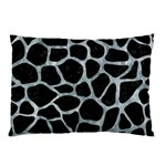 SKIN1 BLACK MARBLE & ICE CRYSTALS Pillow Case