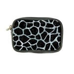 SKIN1 BLACK MARBLE & ICE CRYSTALS Coin Purse