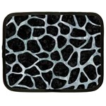 SKIN1 BLACK MARBLE & ICE CRYSTALS Netbook Case (XXL)