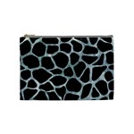 SKIN1 BLACK MARBLE & ICE CRYSTALS Cosmetic Bag (Medium)