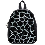 SKIN1 BLACK MARBLE & ICE CRYSTALS School Bag (Small)