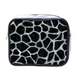SKIN1 BLACK MARBLE & ICE CRYSTALS Mini Toiletries Bags