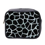 SKIN1 BLACK MARBLE & ICE CRYSTALS Mini Toiletries Bag 2-Side