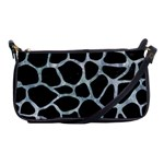 SKIN1 BLACK MARBLE & ICE CRYSTALS Shoulder Clutch Bags