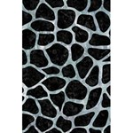 SKIN1 BLACK MARBLE & ICE CRYSTALS 5.5  x 8.5  Notebooks