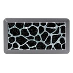 SKIN1 BLACK MARBLE & ICE CRYSTALS Memory Card Reader (Mini)