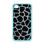 SKIN1 BLACK MARBLE & ICE CRYSTALS Apple iPhone 4 Case (Color)