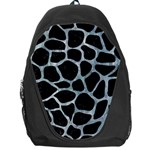 SKIN1 BLACK MARBLE & ICE CRYSTALS Backpack Bag