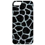 SKIN1 BLACK MARBLE & ICE CRYSTALS Apple iPhone 5 Classic Hardshell Case