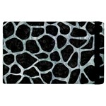 SKIN1 BLACK MARBLE & ICE CRYSTALS Apple iPad 2 Flip Case