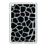 SKIN1 BLACK MARBLE & ICE CRYSTALS Apple iPad Mini Case (White)