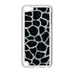 SKIN1 BLACK MARBLE & ICE CRYSTALS Apple iPod Touch 5 Case (White)