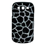 SKIN1 BLACK MARBLE & ICE CRYSTALS Samsung Galaxy S III Classic Hardshell Case (PC+Silicone)