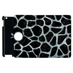 SKIN1 BLACK MARBLE & ICE CRYSTALS Apple iPad 3/4 Flip 360 Case