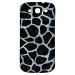 SKIN1 BLACK MARBLE & ICE CRYSTALS Samsung Galaxy S3 S III Classic Hardshell Back Case
