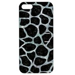 SKIN1 BLACK MARBLE & ICE CRYSTALS Apple iPhone 5 Hardshell Case with Stand