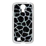 SKIN1 BLACK MARBLE & ICE CRYSTALS Samsung GALAXY S4 I9500/ I9505 Case (White)