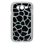 SKIN1 BLACK MARBLE & ICE CRYSTALS Samsung Galaxy Grand DUOS I9082 Case (White)