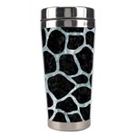 SKIN1 BLACK MARBLE & ICE CRYSTALS Stainless Steel Travel Tumblers