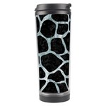 SKIN1 BLACK MARBLE & ICE CRYSTALS Travel Tumbler
