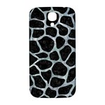 SKIN1 BLACK MARBLE & ICE CRYSTALS Samsung Galaxy S4 I9500/I9505  Hardshell Back Case