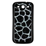 SKIN1 BLACK MARBLE & ICE CRYSTALS Samsung Galaxy S3 Back Case (Black)