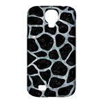 SKIN1 BLACK MARBLE & ICE CRYSTALS Samsung Galaxy S4 Classic Hardshell Case (PC+Silicone)