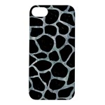 SKIN1 BLACK MARBLE & ICE CRYSTALS Apple iPhone 5S/ SE Hardshell Case