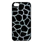 SKIN1 BLACK MARBLE & ICE CRYSTALS Apple iPhone 5C Hardshell Case